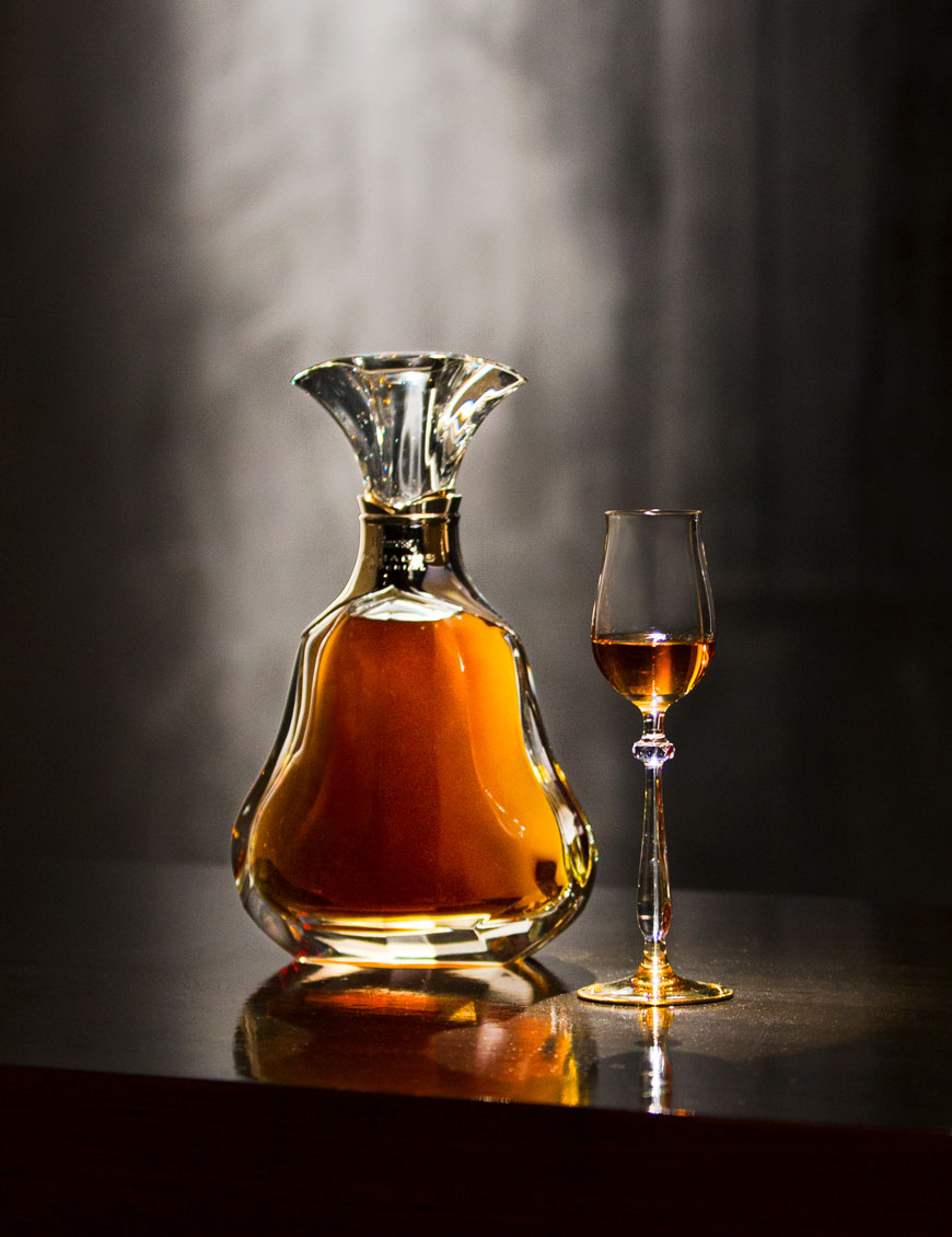 With every sip of the rare, golden-hued Hennessy Paradis Impérial cognac, essences of orange flower and jasmine blend in a subtle, swirling foundation of smoke and subtle spices.