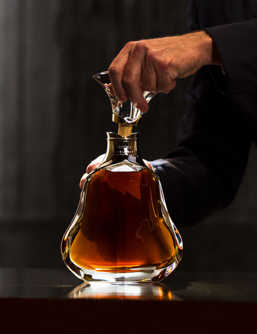 The rare blend that creates Hennessy Paradis Impérial cognac contains some of the most precious eaux-de-vie from the Hennessy collection, identified and delicately nurtured to maturity by the Master Blender.