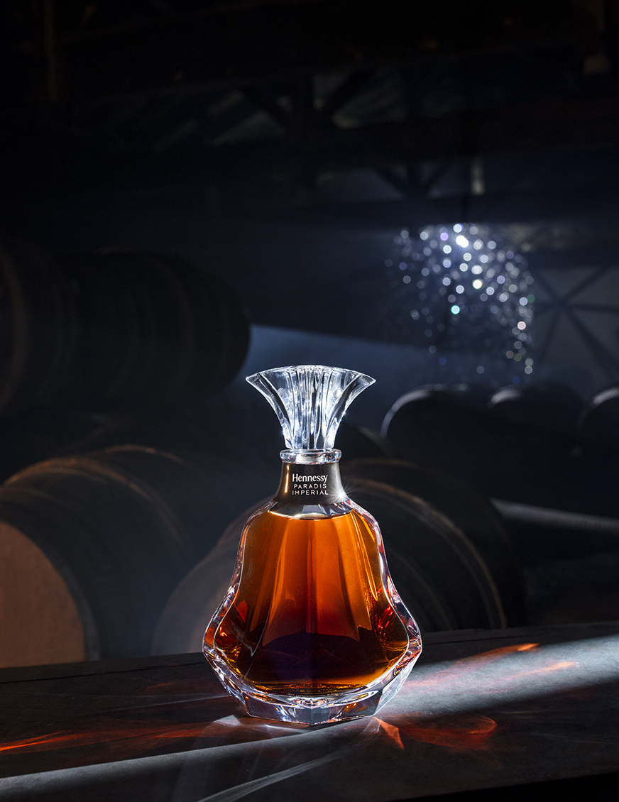The best way to store and preserve the rare Hennessy Paradis Imperial cognac blend is to keep the bottle upright in the dark, at room temperature, or between 18 and 22 degrees Celsius.